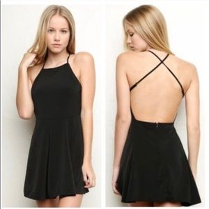Brandy Melville black mini dress